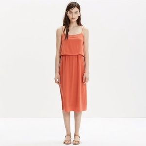 Madewell Silk Overlay Cami Dress Size 8
